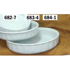 Assadeira Canelada Grande Porcelana Bot Art - ref 684-1