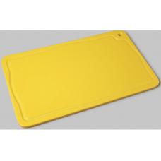 Placa De Corte Tabua Amarela Com Canaleta 25x37 Pronyl -  ref 165