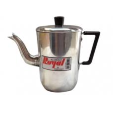 Cafeteira Polida Com Tampa Alumínio Royal 1L - ref 817