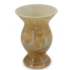 Cuia Chimarrão Rio Grande Do Sul Em Cerâmica 350ml MondoCeram - ref 185601G