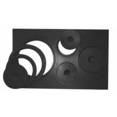 Chapa de Ferro Para Fogao A Lenha Alfa 4 Furos - ref 1152-3