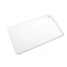 Placa De Corte Branca Com Canaleta 30x50 Pronyl -  ref 125
