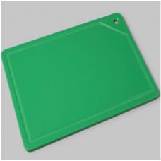 Placa De Corte Verde Com Canaleta 25x37 Pronyl -  ref 162