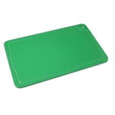 Placa De Corte Verde Com Canaleta 30 x 50 Pronyl -  ref 156