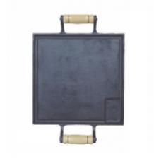 Chapa bifeteira de Ferro Alfa 25x25 - ref 001
