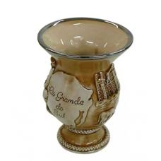 Cuia Chimarrão Rio Grande Em Cerâmica 280ml MondoCeram - ref 181320G
