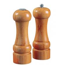 Conjunto Moedor Pimenta e Saleiro Bamboo MOR - ref 8449