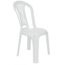 Cadeira Bistrô Tramontina Atlântida em Polipropileno Branco - ref 92013010