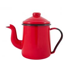 Bule Cafeteira Esmaltado Ewel 12 1.1L Vermelho- ref 151004