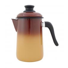 Bule Café Esmaltado Ewel 14 1.5L Marrom - ref 69001