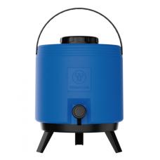 Botijão Térmico Termolar Maxitermo 8L Azul - ref 1381